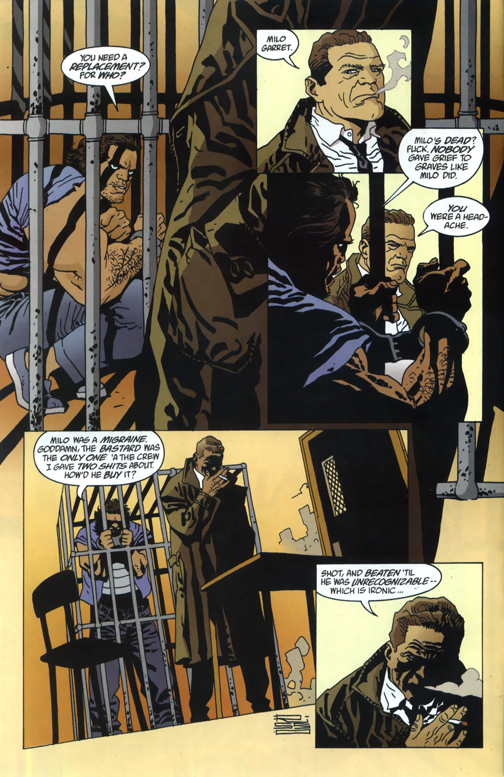 Read online 100 Bullets comic -  Issue #46 - 5