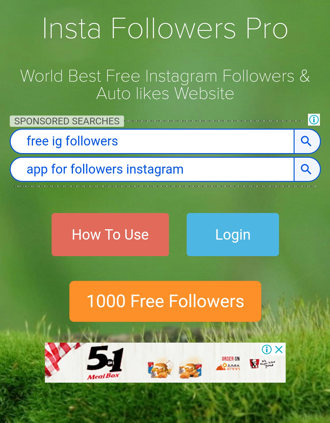 How to get free insta followers, likes and comments - Droidv