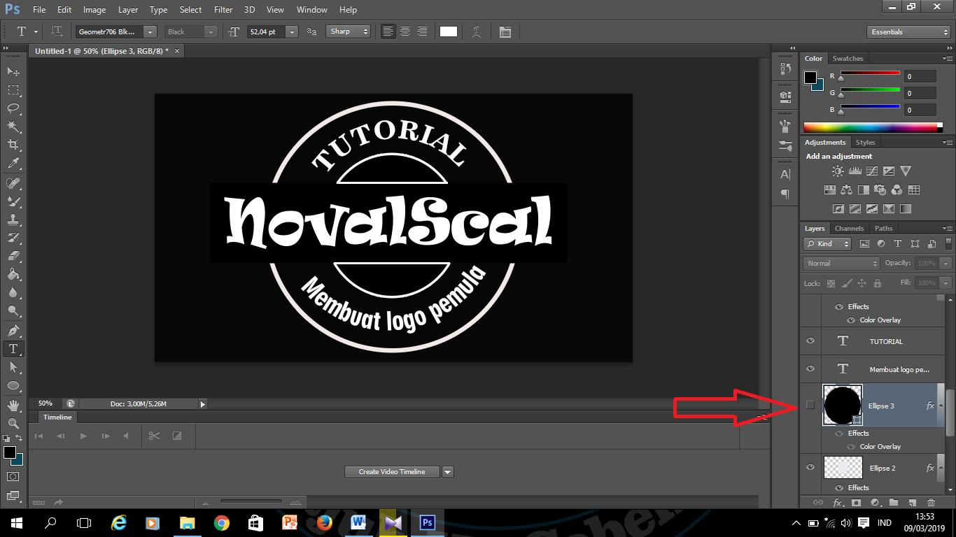 Cara Membuat Logo Untuk Pemula Di Photoshop
