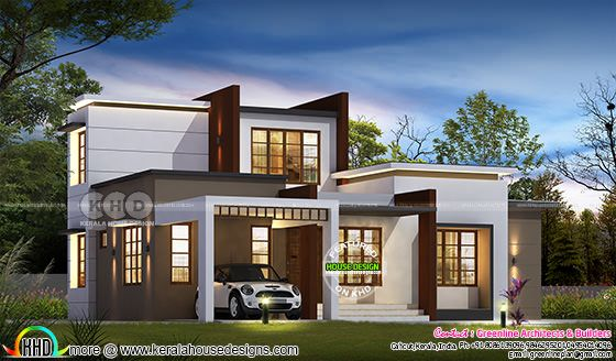 Low cost home 1610 sq-ft home design