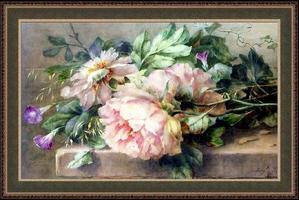 Розови божури + РМ
