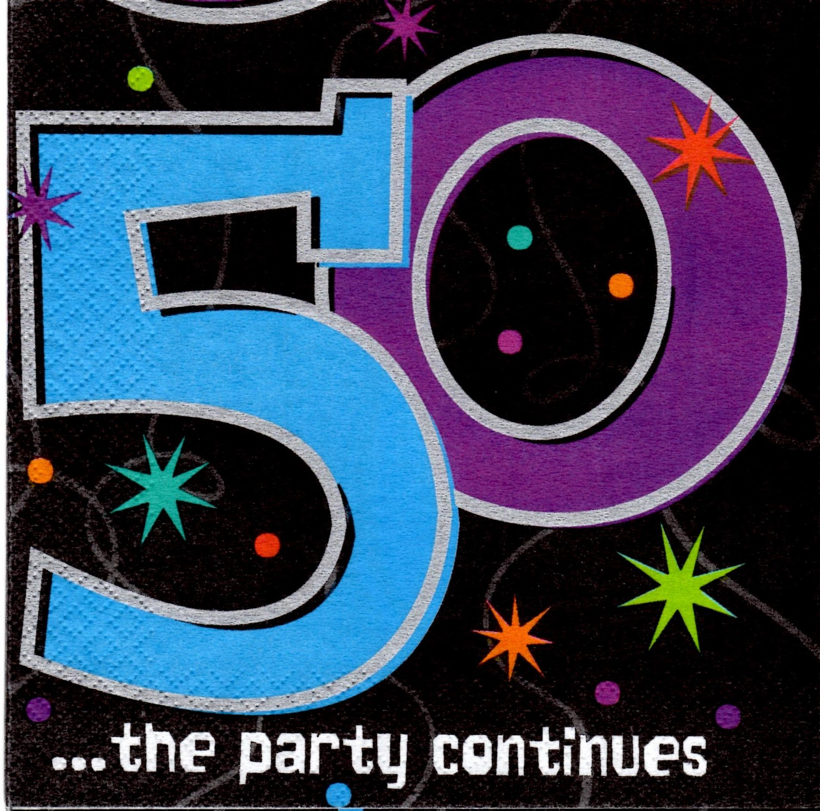 Party Cakes: 50th Birthday Cake