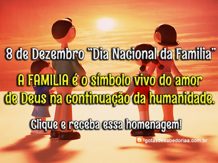 Mensagem Para Família O Bem Mais Precioso Que Deus Nos: Gøŧαs Dє Sαbєdøriα: Familia é O Bem Mais Precioso Que Deus