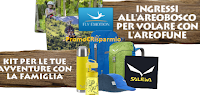 "Logo ""Vinci con UCI Cinemas e Bigfoot Junior'': gratis kit Salewa e ingresso all'Aerobosco"