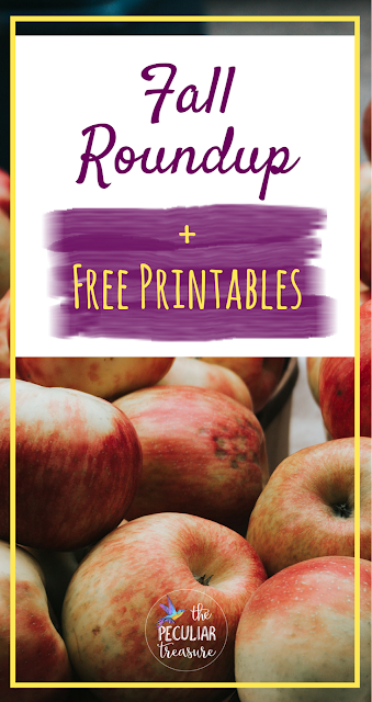 Fall Roundup with Free Printables