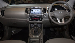 interior All New Sportage