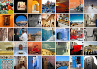 """The English name """"Morocco"""" derives from, respectively, the Spanish and Portuguese names """"Marruecos"""" and """"Marrocos,"""" which stem from """"Marrakesh"""" the Latin name for the former capital of ancient Morocco; the Arabic name """"Al Maghrib"""" translates as """"The West"""""""