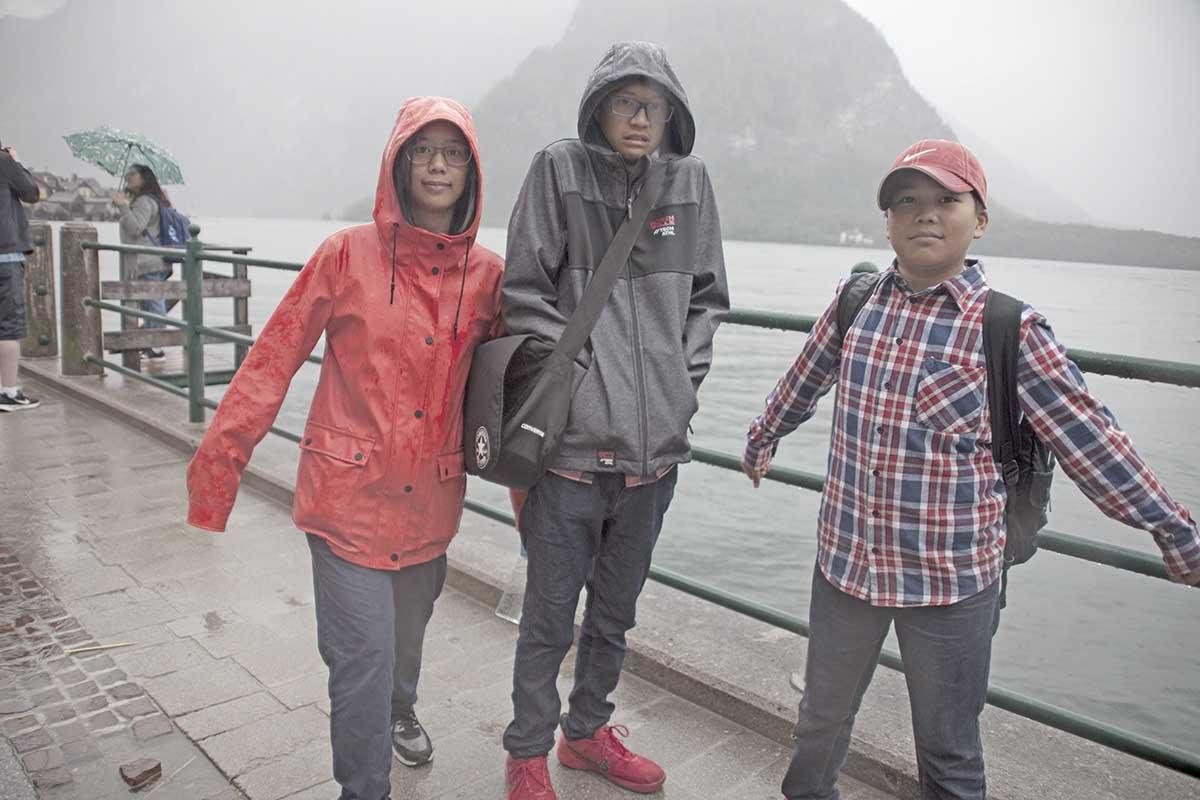 rainy day Hallstatt