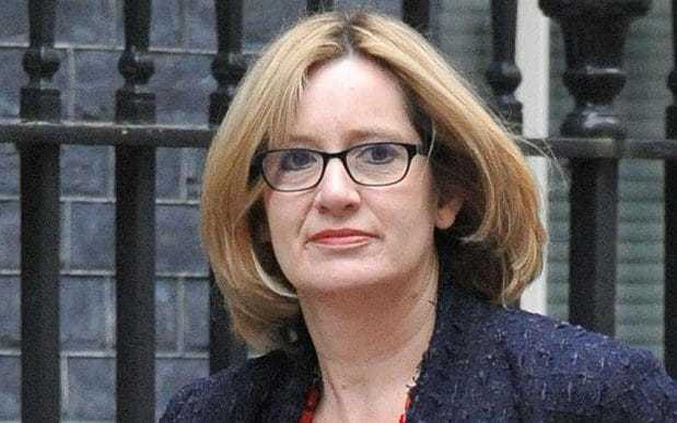 Amber Rudd - UK Home Secretary