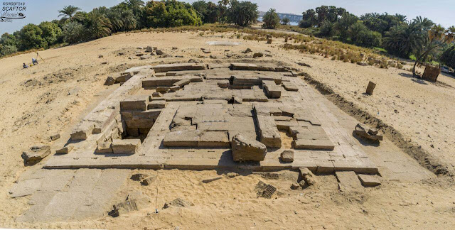 2nd century Roman temple uncovered in Aswan