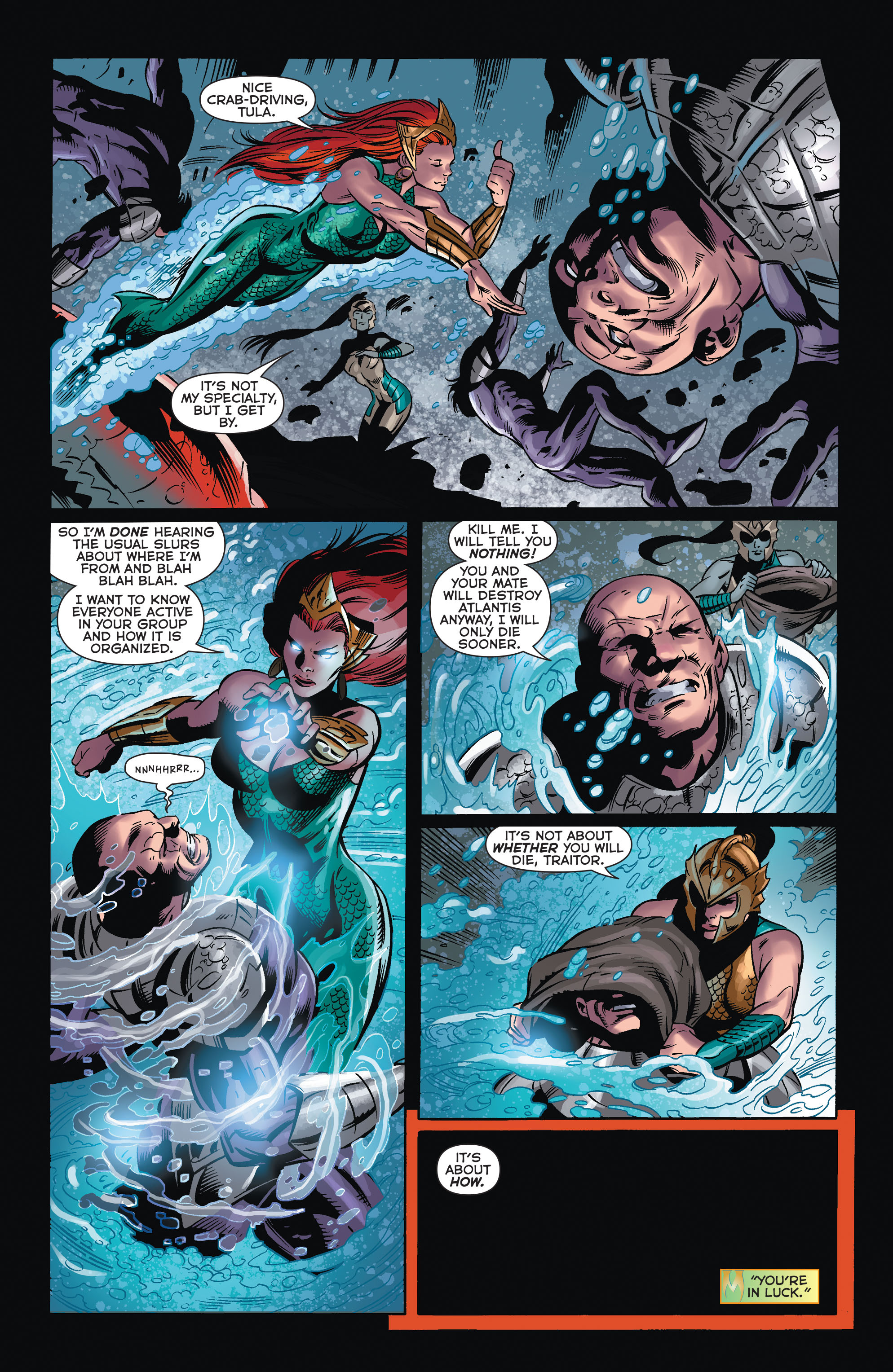 Read online Aquaman (2011) comic -  Issue #32 - 15