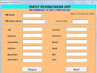 Aplikasi Pengelolaan Pembayaran SPP Sekolah Gratis