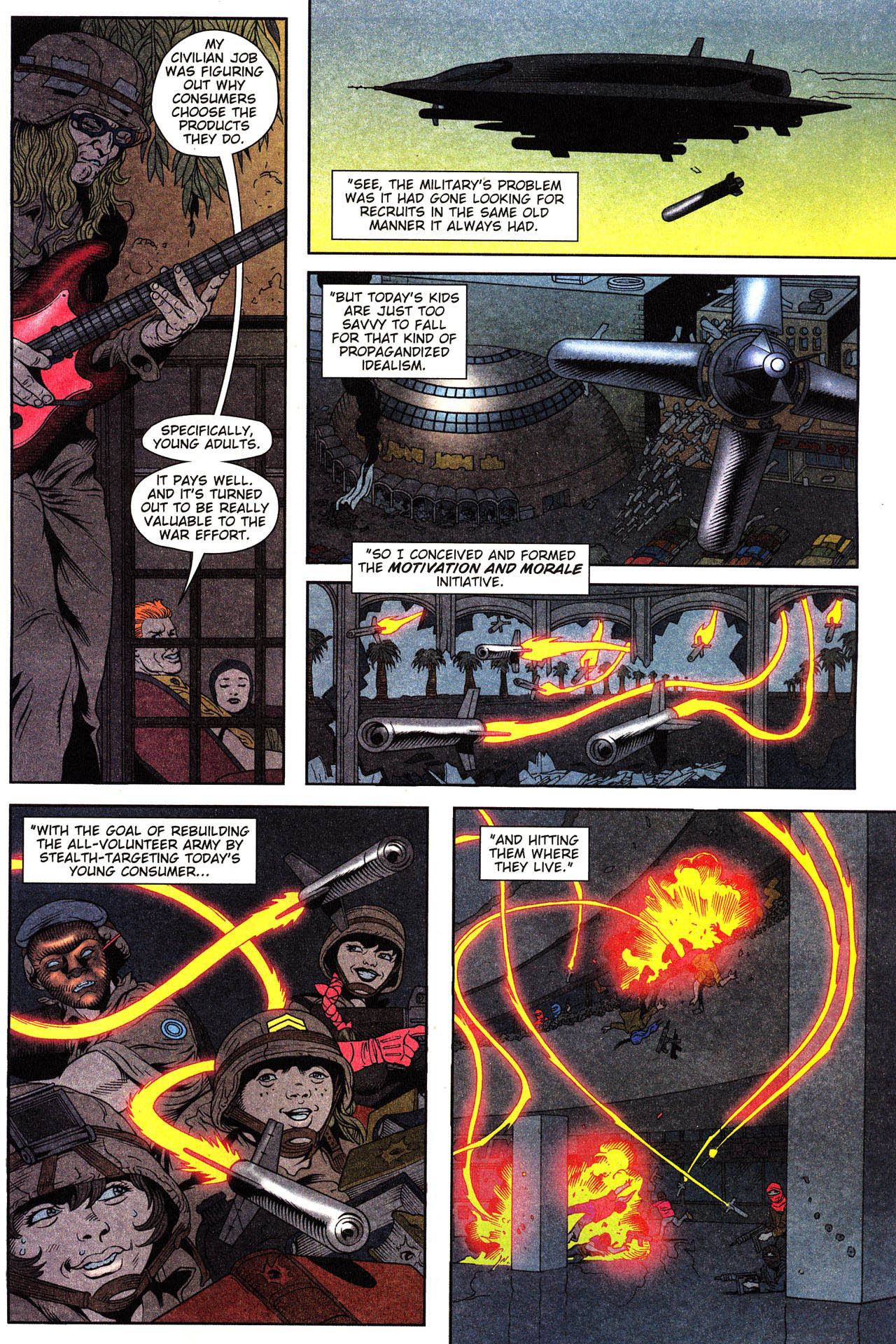 Read online Army @ Love comic -  Issue #2 - 17