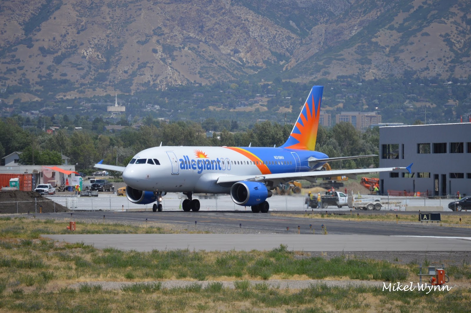 Gallery Update Allegiant A319 Afternoon Departure From