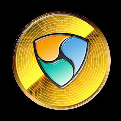 仮想通貨ネムのフリー素材(金貨ver)