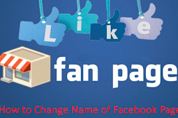 How to Change My Page Name On Facebook