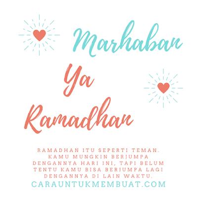 Kata Kata Mutiara Bulan Ramadhan