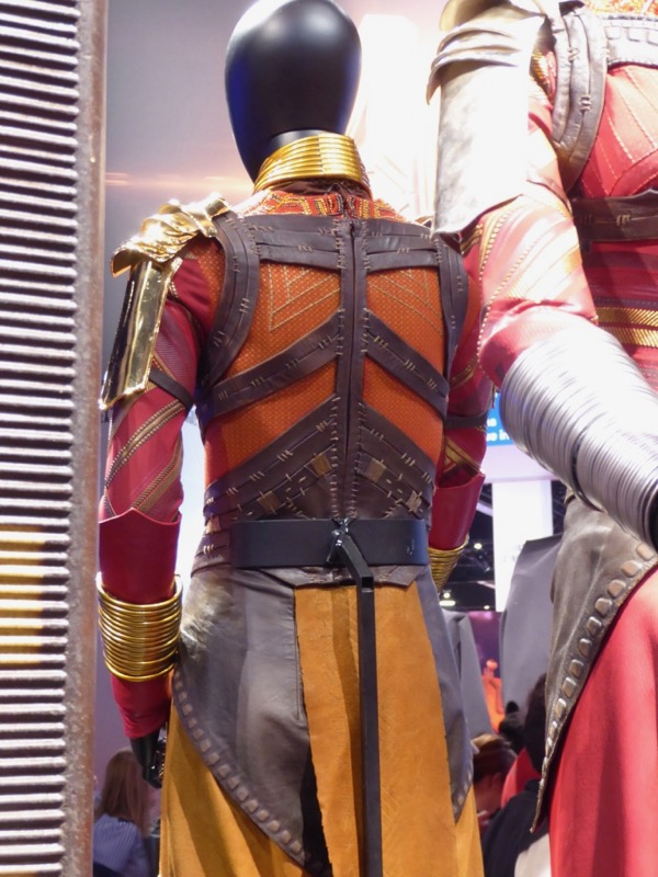 Dora Milaje costume back Black Panther