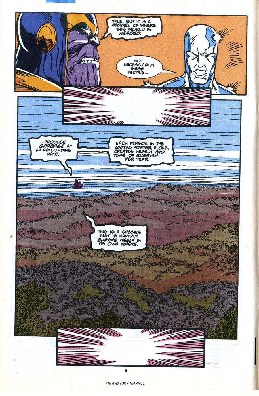 Read online Silver Surfer (1987) comic -  Issue #35 - 10