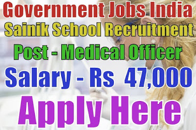 Sainik School Recruitment