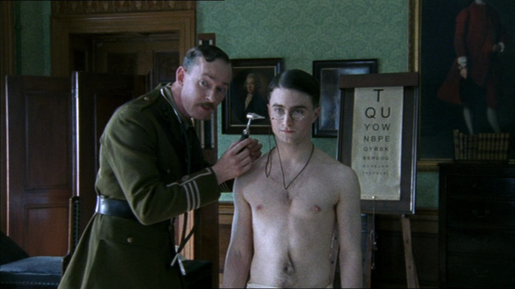 Shirtless daniel radcliffe naked for support