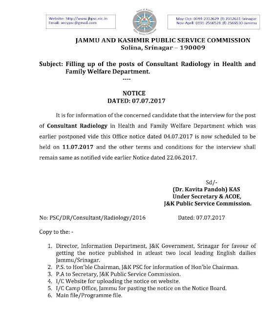 JKPSC+Notice