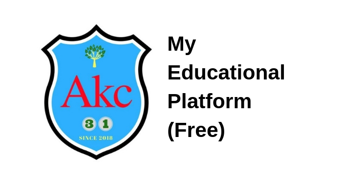 My Educational  Platform (FREE)
