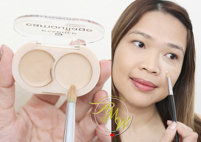 a photo on how to use Essence Camouflage Concealer Review in Natural Beige