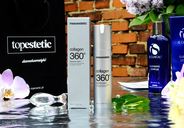 Mesoestetic Collagen 360 Intensywnie ujędrniający krem do twarzy - recenzja