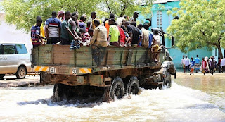 Flash floods throughout Somalia
