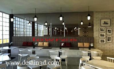 Jasa Pembuatan Desain Interior Cafe Vietnam Secara Online