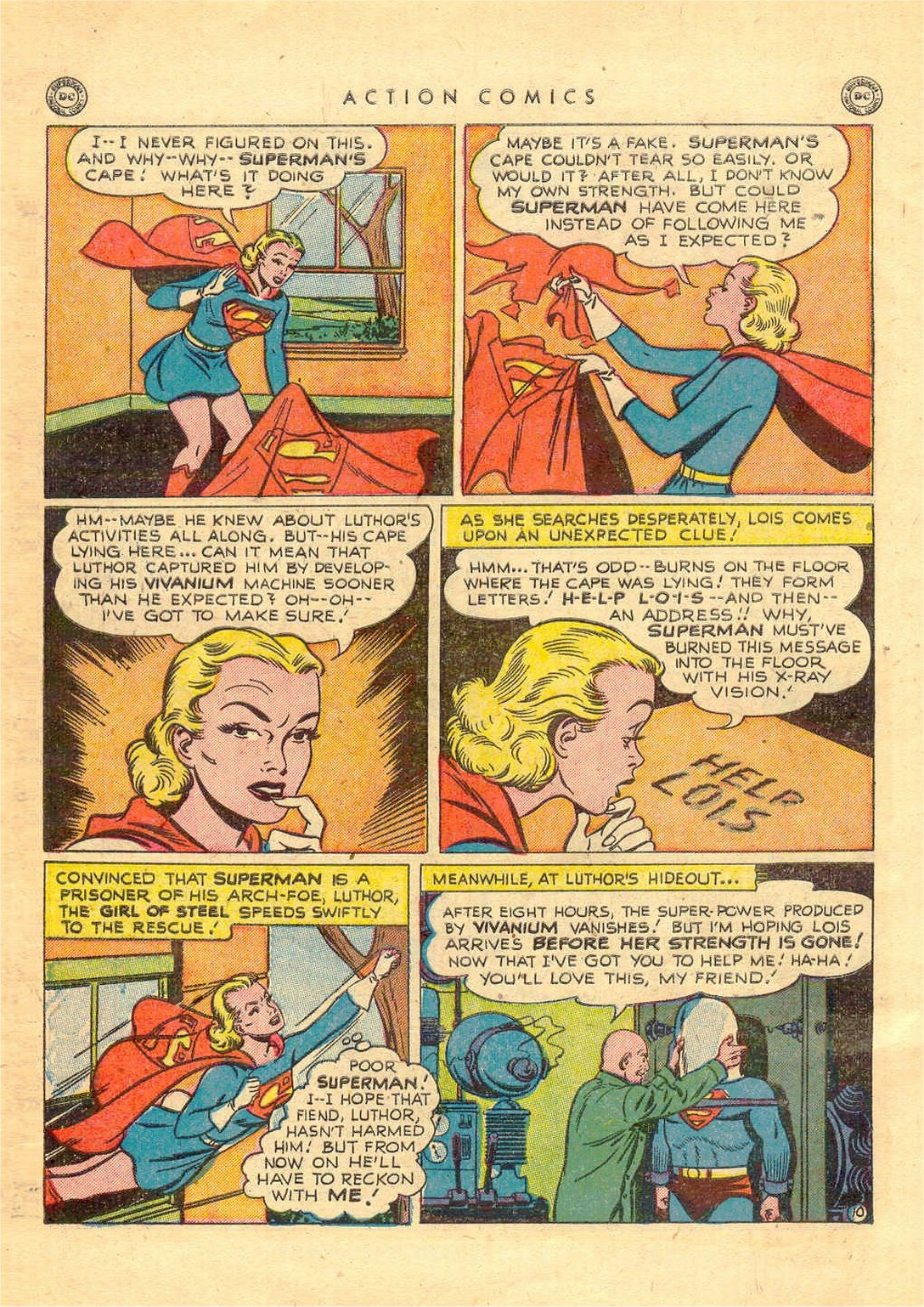 Read online Action Comics (1938) comic -  Issue #156 - 11