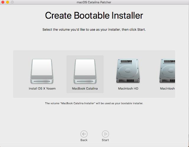 Create Bootable Installer
