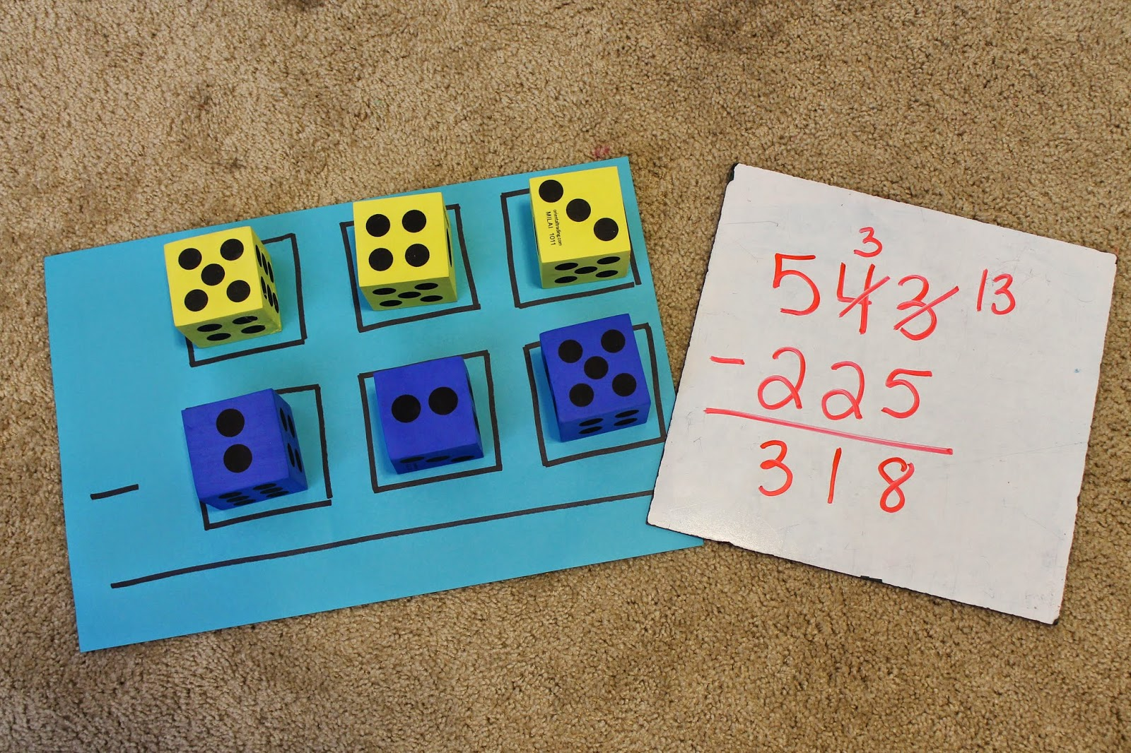 Apples 4 Bookworms 3 Digit Subtraction Or Addition Practice