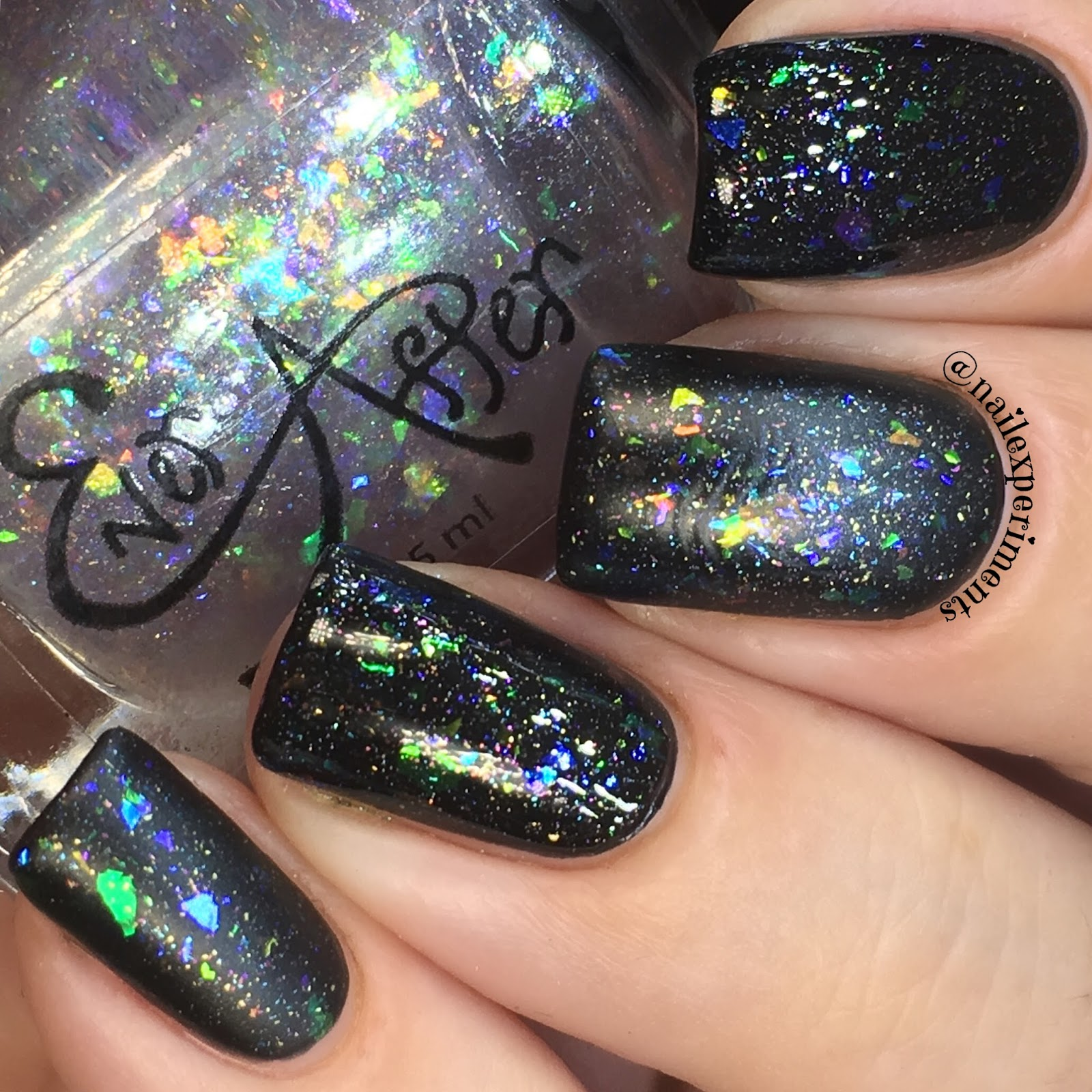 ever after polish flake it up jellies straight up swatch