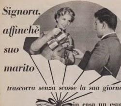 Propaganda machista da cafeteira italiana Moka.