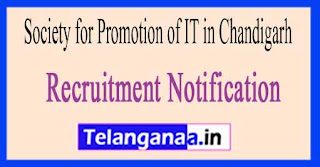 Society for Promotion of IT in Chandigarh SPIC Recruitment Notification 2017