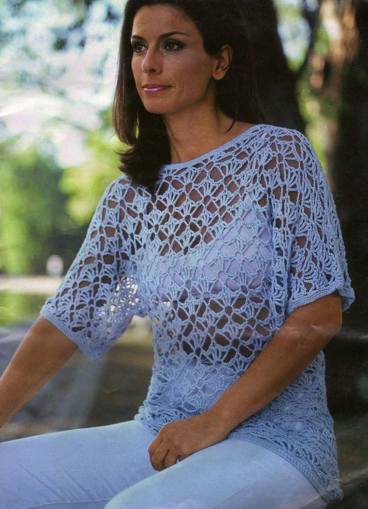 Jersey Tunica Crochet Patron