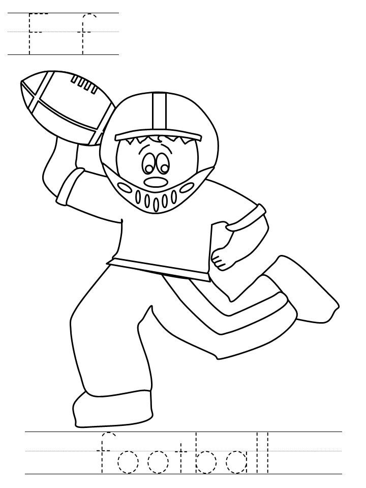 superbowl coloring pages for kids | Be Still and Create: Super Bowl Activities for the Kids