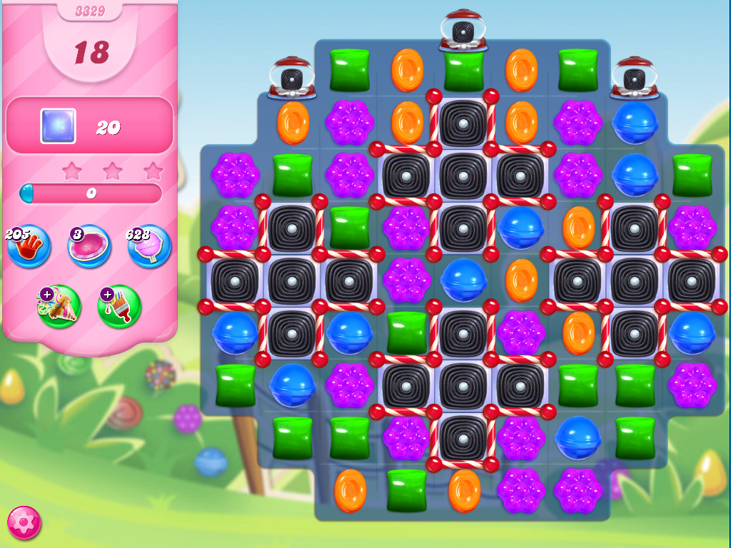 Candy Crush Saga level 3329
