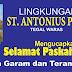 St Antonius Padua Tegal Waras - Selamat Paskah