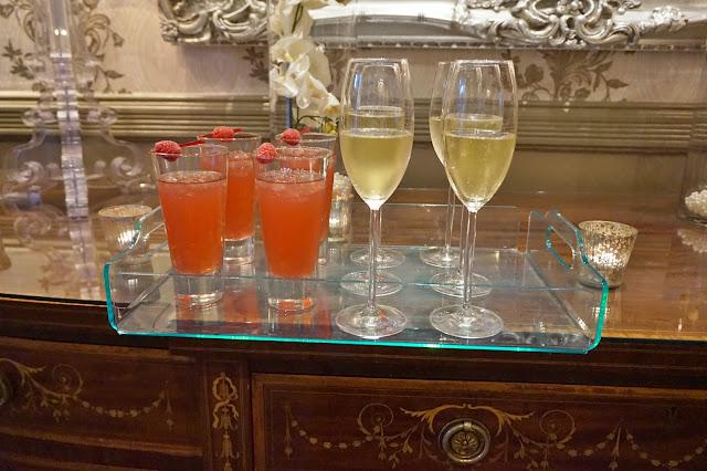 Dine Venues The Mansion Leeds Champagne glasses
