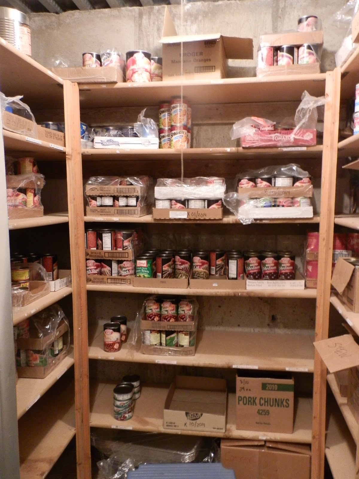 Prepared Lds Family Pictures Of My Food Storage Room