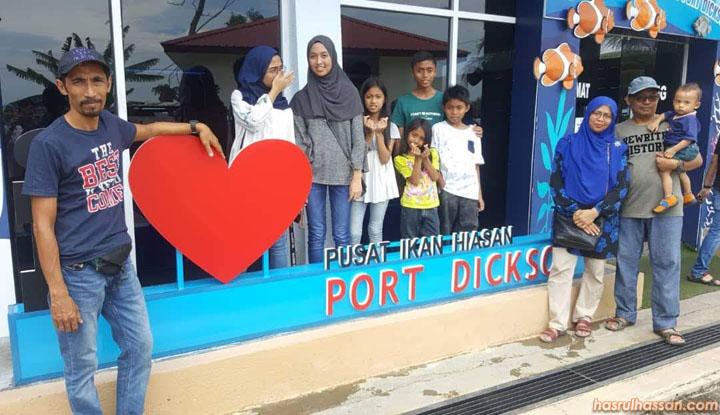 Pusat Ikan Hiasan, Teluk Kemang Port Dickson