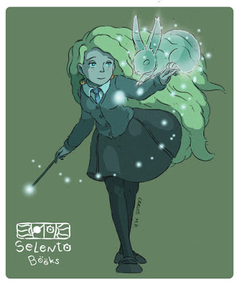 FANART Luna Lovegood (Harry Potter de J.K. Rowling) by Selento Books