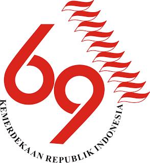 Gambar Bendera Merah Putih Hari Kemerdekaan ke 69 17 Agustus 1945