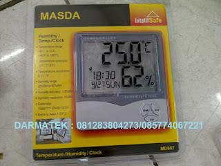 Darmatek Jual Masda MD-807 Temperature / Humidity / Clock