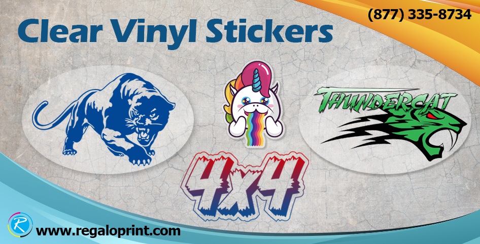 Tips to get self-adhesive clear vinyl stickers printing with
