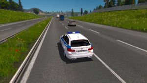 BMW M5 Andorra Touring Police Skin