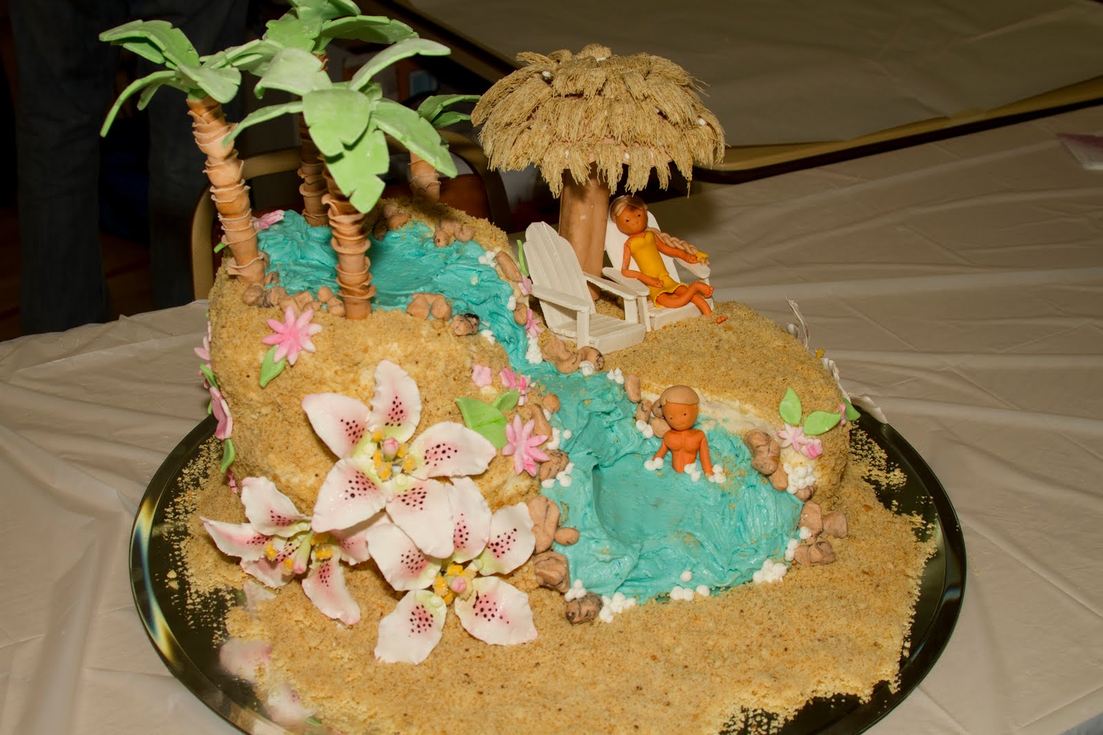 All Tiered Up: Cake Decorating Contest Cake